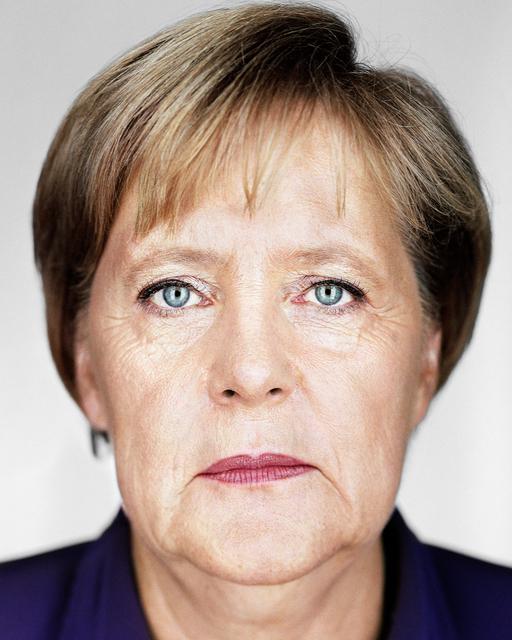 Martin Schoeller, 'Angela Merkel', 2010, Photography, Archival pigment print, Ostlicht. Gallery for Photography