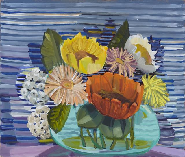 , 'Blue Flowers,' 2017, Anglim Gilbert Gallery