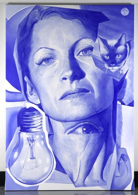 , 'Blue Phantom Limb,' , Galeria Enrique Guerrero