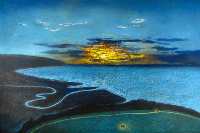 , 'Poets Walk at Sunset,' 2016, John Martin Gallery