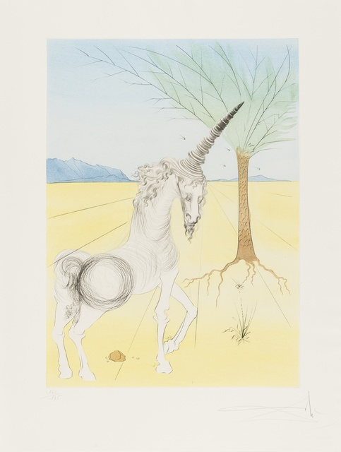 Salvador Dalí, 'The Twelve Tribes of Israel (M&L 618-630; Field 72-6)', 1973, Books and Portfolios, The complete portfolio, comprising thirteen dry points with etching and pochoir in colours, Forum Auctions