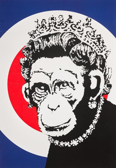 Banksy, 'Monkey Queen', 2003, Taglialatella Galleries