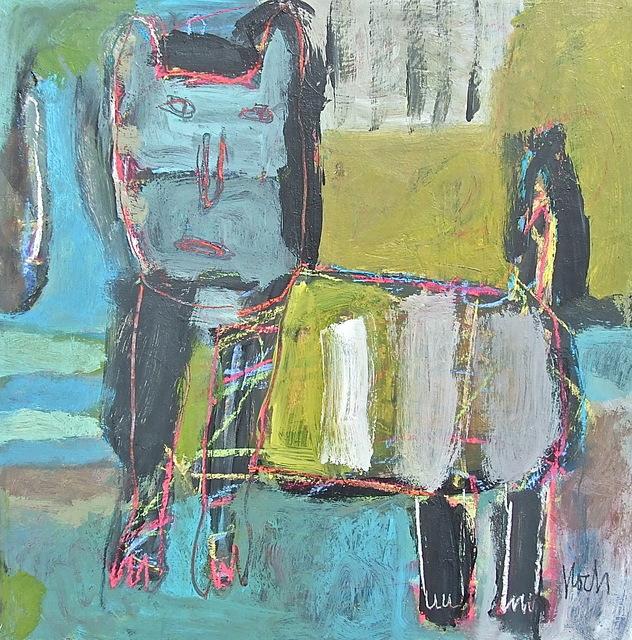 , 'In the Neighbor's Yard,' 2017, Hanson Howard Gallery