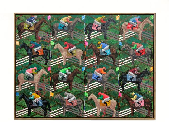 Derek Fordjour, 'Stable', 2019, Night Gallery