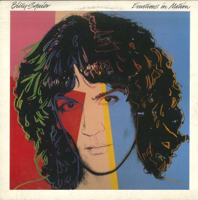 "Andy Warhol, 'Billy Squier / ""Emotions in Motion""', 1982, NextStreet Gallery"