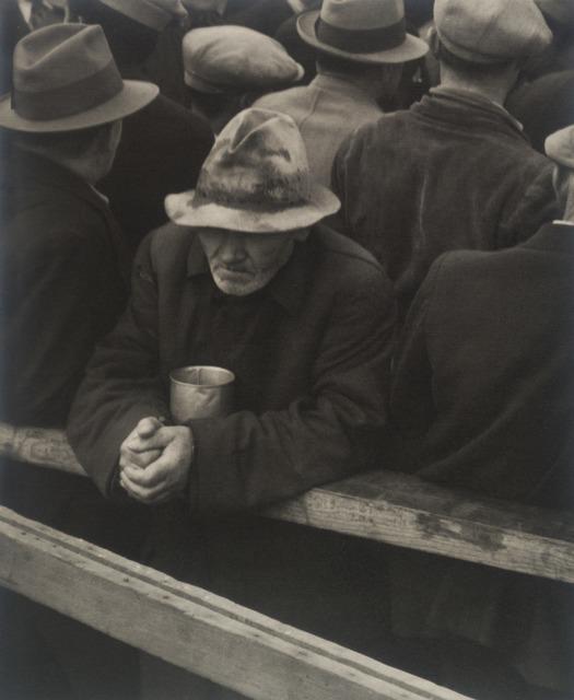 Dorothea Lange, 'White Angel Breadline, San Francisco', 1933, San Francisco Museum of Modern Art (SFMOMA)
