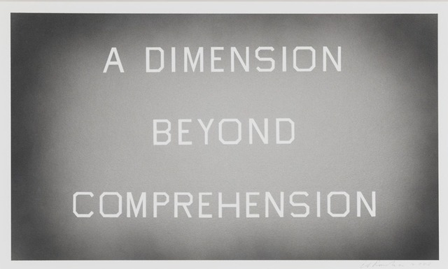 Ed Ruscha, 'A Dimension Beyond Comprehension,' 2008, Gagosian