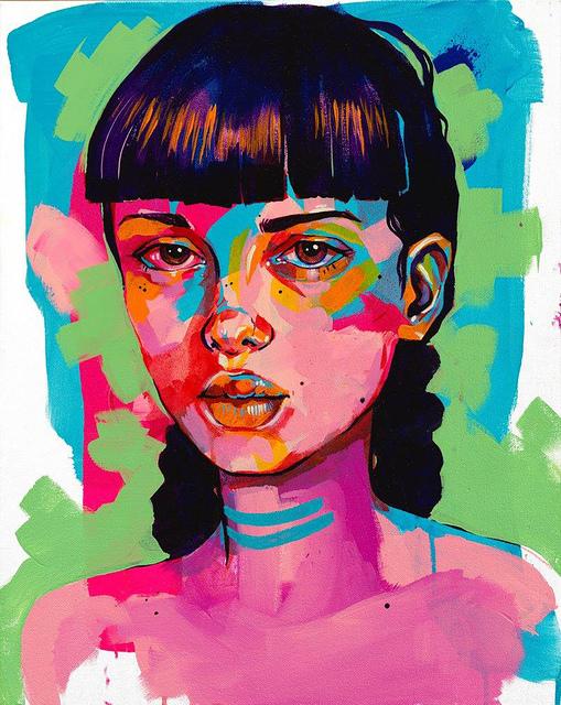, 'Alex,' 2018, Art Attack SF
