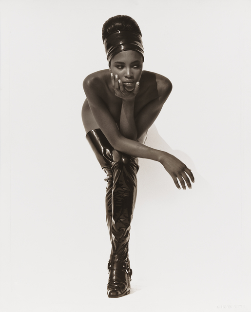 , 'Naomi Campbell, Face in Hand, Hollywood,' 1990, Museum of Fine Arts, Boston