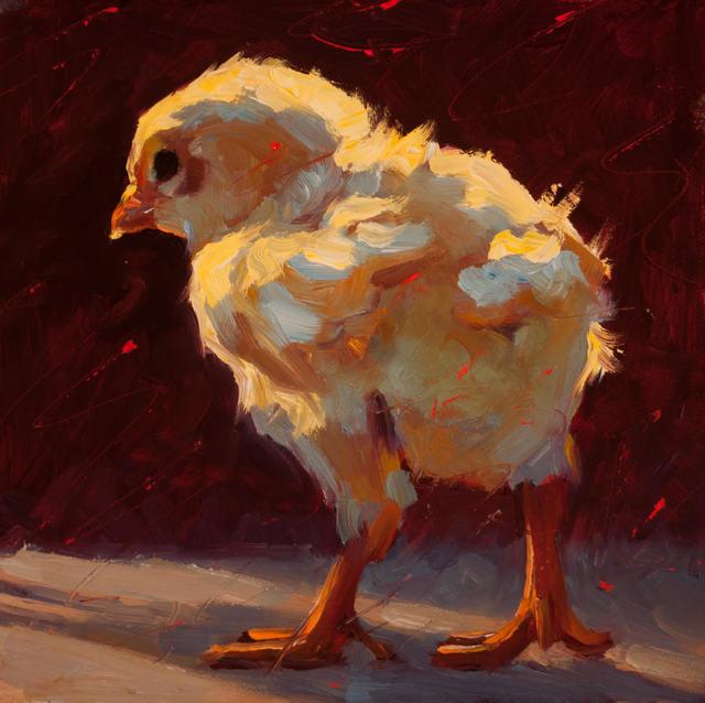, 'Scrappy Chick,' 2018, Eisenhauer Gallery