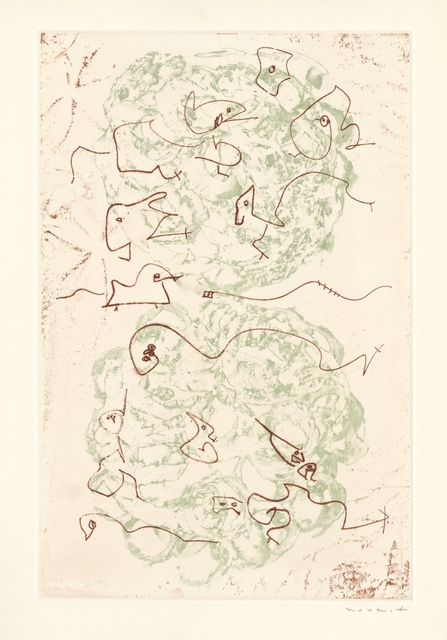 Max Ernst, 'Les chiens ont soif', 1964, Artsnap
