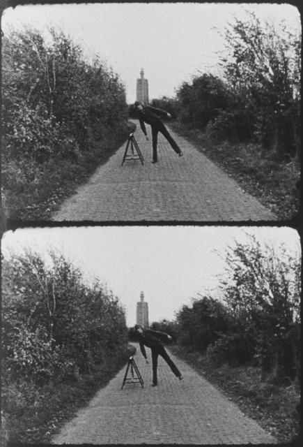Bas Jan Ader, 'Broken fall (geometric), Westkapelle, Holland', 1971, Meliksetian | Briggs