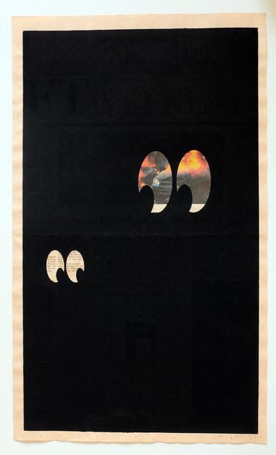 , 'Marx Brothers No.3, 2012,' , Taubert Contemporary