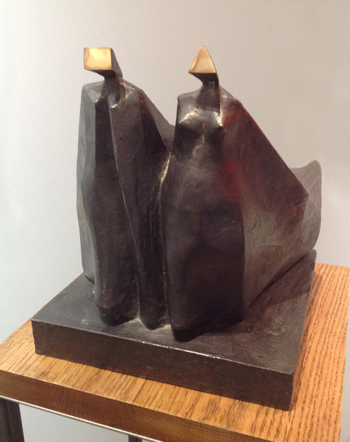 , 'Cloaked Couple VIII,' 1978, Osborne Samuel