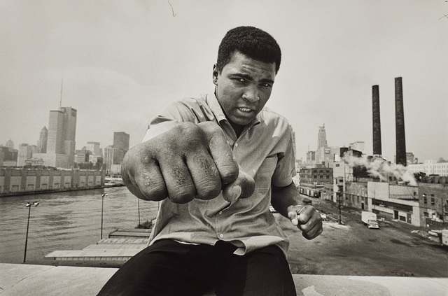 Thomas Hoepker, 'Muhammed Ali with fist, Chicago', 1966, Phillips