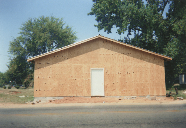 """, 'Building that Replaces """"The Underground Club,"""" Greensboro, Alabama (will become Barry's Place),' 1999, Pace/MacGill Gallery"""