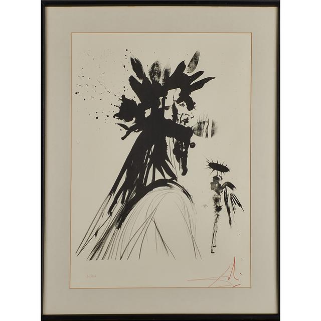 Salvador Dalí, 'Lithograph on BFK Rives, Dante', 1964, Rago/Wright
