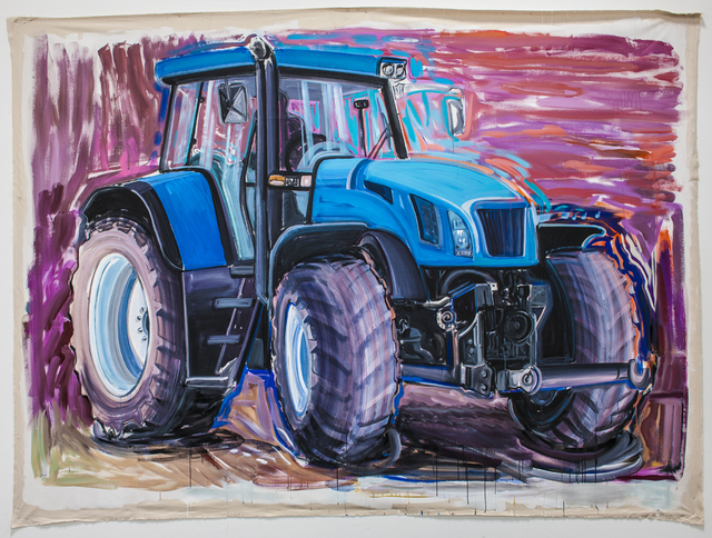 , 'Big Friend (New Holland Tractor),' 2013, Rosamund Felsen Gallery