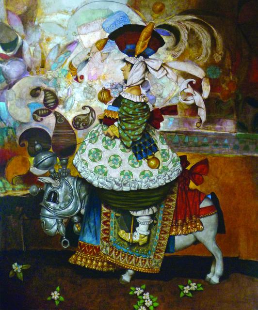 """Daron Mouradian, '""""Rider"""" / """"Binici""""', 2013, Galeri 77"""