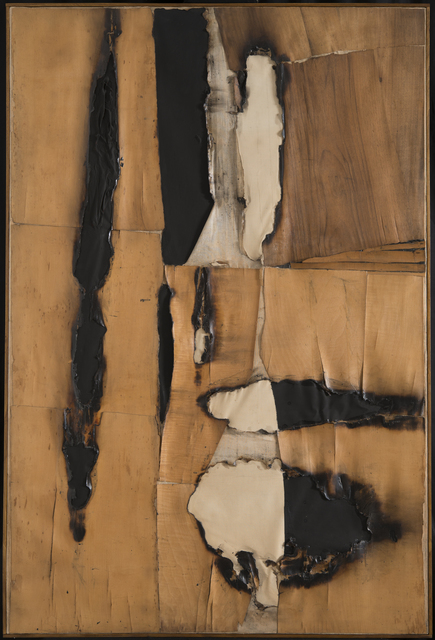 , 'Combustione legno (Wood Combustion),' 1957, Guggenheim Museum