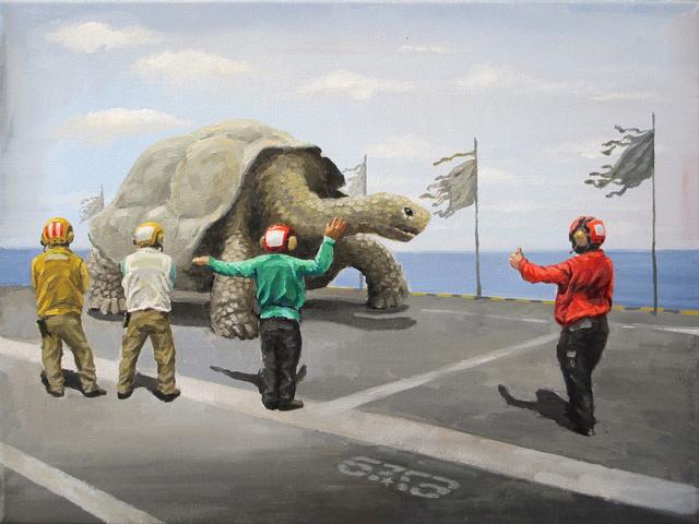 , 'Turtle on the Runway,' 2015, Art Vietnam Gallery