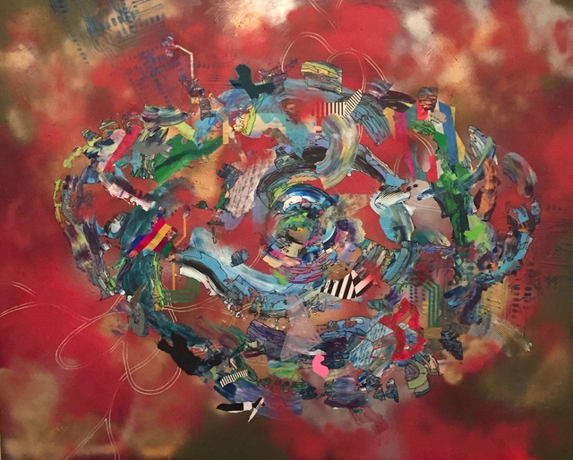 , 'Quantum Entanglement,' 2015, Ro2 Art