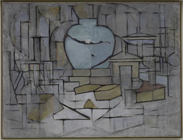 , 'Stilleven met gemberpot II,' 1911-1912, Guggenheim Museum Bilbao
