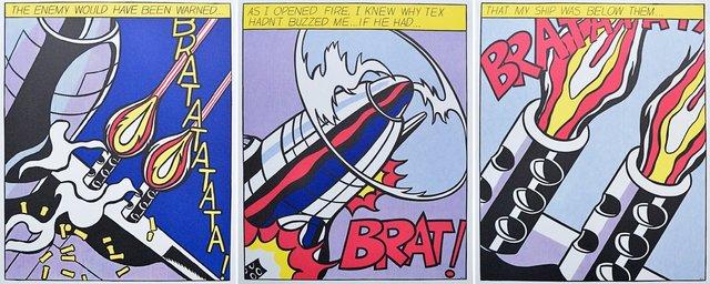 Roy Lichtenstein, 'As I opened Fire', 1960-1970, ARTEDIO