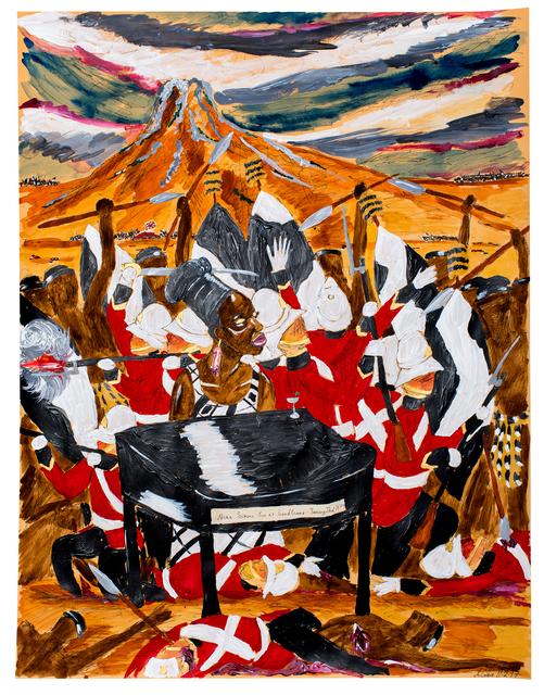 , 'Nina Simone - live at Isandlwana, January, 22 1879,' 2017, Sperling