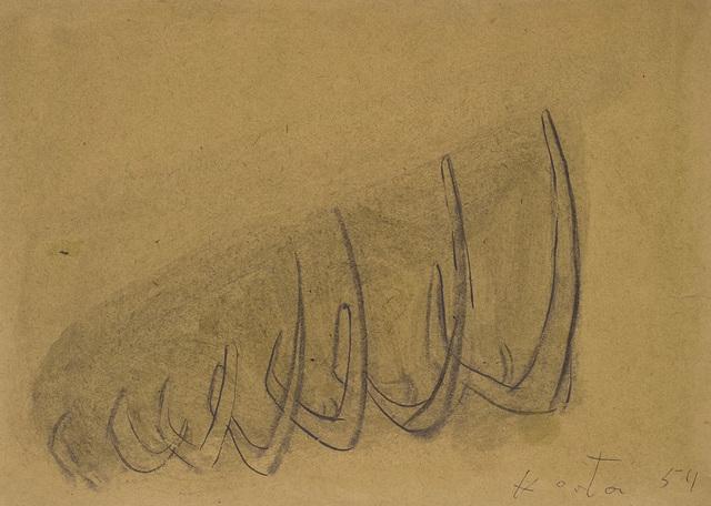 , 'Structure of bones ,' 1954, Galerie Isabella Czarnowska