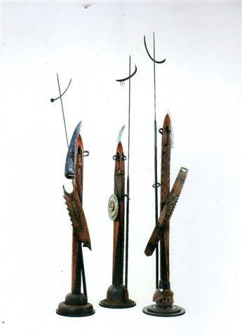 , 'Serie guerreros,' 2012, Galeria Laura Haber