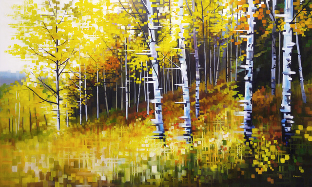 , 'Autumn in the Foothills,' 2016, Abend Gallery