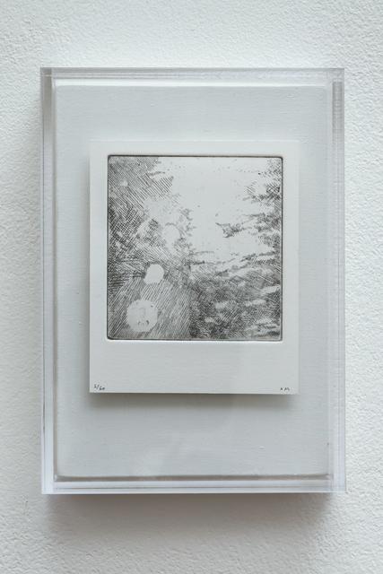 , 'Polaroid Etching 6,' 2015, Joanna Bryant & Julian Page