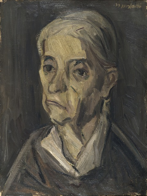 Ennio Morlotti, 'Ritratto di donna', 1944, Il Ponte