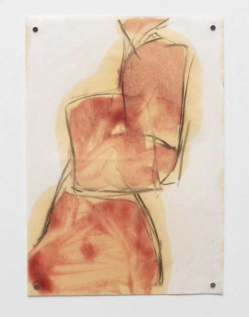 Elisa Bracher, 'Untitled', 2010, Drawing, Collage or other Work on Paper, Pigment, linseed oil and coal on Foscotex paper, Galeria Raquel Arnaud