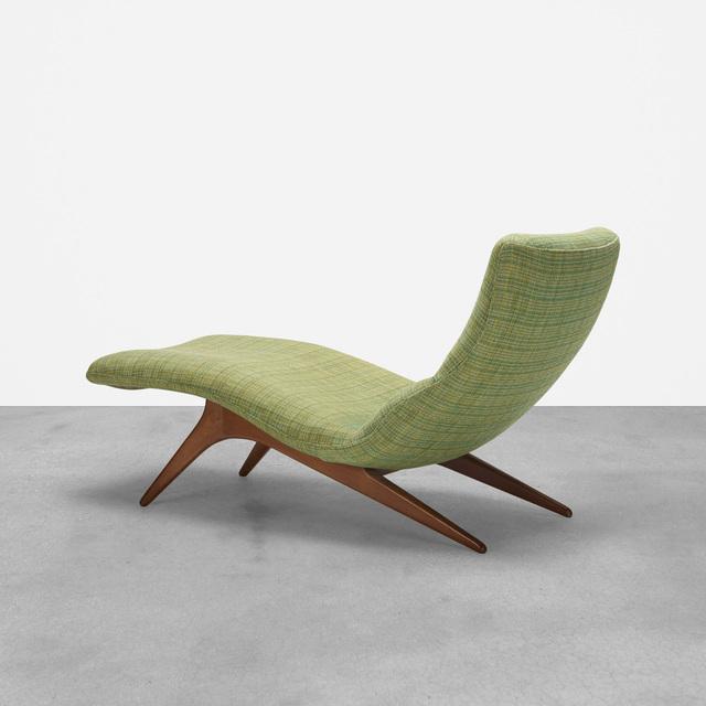 Vladimir Kagan, 'Chaise Lounge, Model 177Ls', c. 1959, Wright
