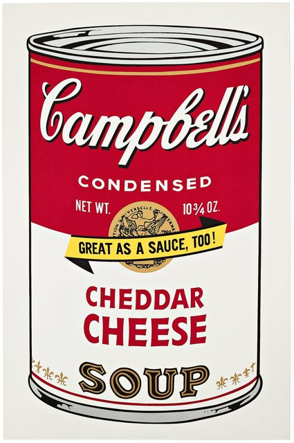 Andy Warhol, 'Campbell's Soup II: Cheddar Cheese II.63', 1969, Hamilton-Selway Fine Art