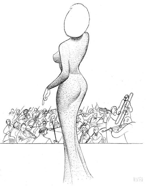 "Al Hirschfeld, '""Marilyn Monroe - Happy Birthday, Mr. President""', 2002, RoGallery"