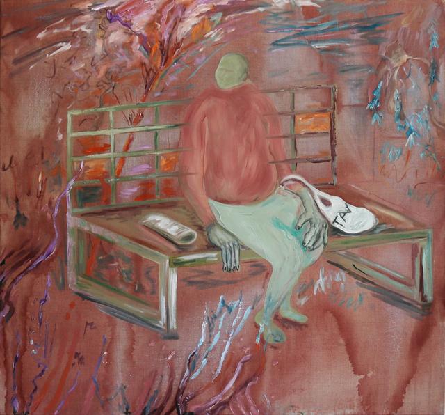Anne Speier, 'Bank', 2019, Painting, Oil, Acrylic on Canvas, Galerie Meyer Kainer