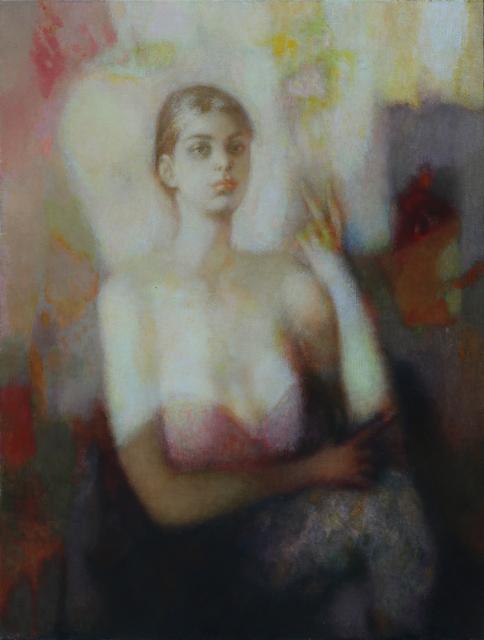 , 'Portrait of a young woman,' 1997, Vanda Art Gallery