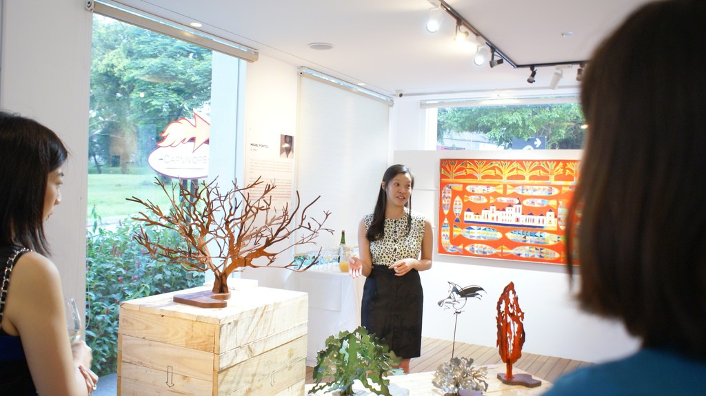 Art consultant Rachel Chin explains the inspiration and the idea behind Miguel Ponticu's The Great Oak.