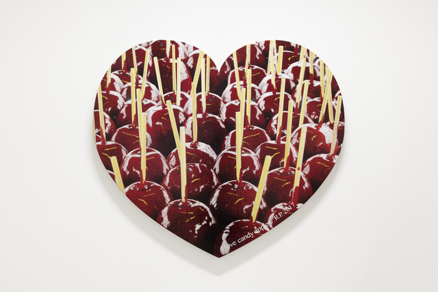 , 'I ♥ Candy Apples,' 2017, Rod Bianco Gallery