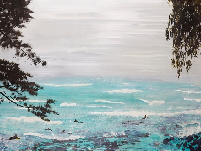 , 'Coast to coast,' 2015, Hugo Michell Gallery