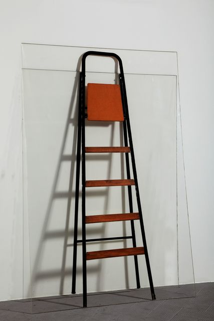 , 'Double Ladder against the Wall (Scala doppia appoggiata al muro [Plexiglass]),' 1964, Peggy Guggenheim Collection