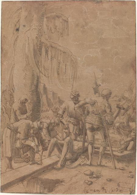 Albrecht Altdorfer, 'Christ Nailed to the Cross', ca. 1512, National Gallery of Art, Washington, D.C.