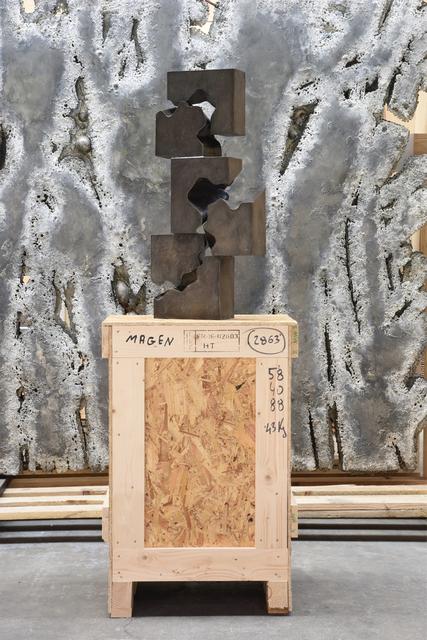 """, '""""Cascade"""" sculpture,' 1990, Magen H Gallery"""