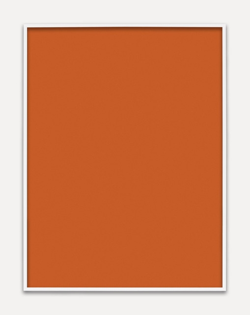, 'Untitled (Orange Monochrome),' 2013, M+B