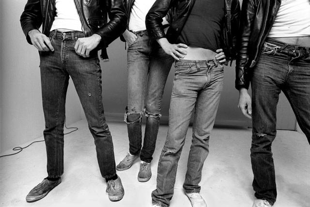 , 'Jeans & Keds, The Ramones, Los Angeles, CA,' 1977, Holden Luntz Gallery