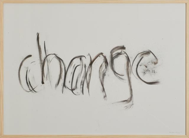 , 'change,' 2017, Cortesi Gallery
