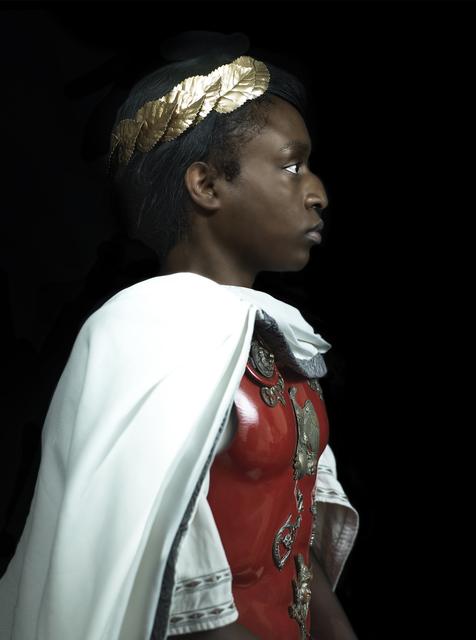 , 'Rewrite history in black - Cesar,' 2016, Galerie Geraldine Banier